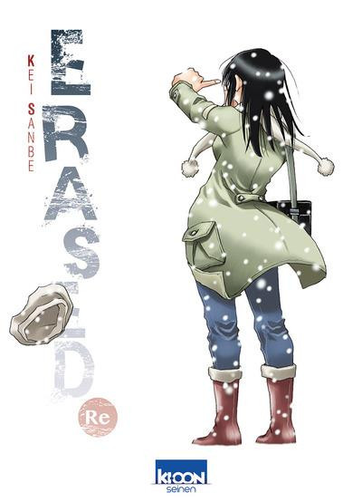 Couverture Erased - Re