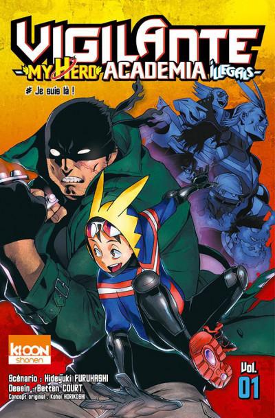 Couverture Vigilante - my hero academia illegals tome 1