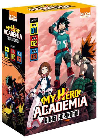 Couverture My hero academia - coffret saison 1