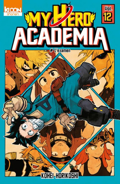 Couverture My hero academia tome 12