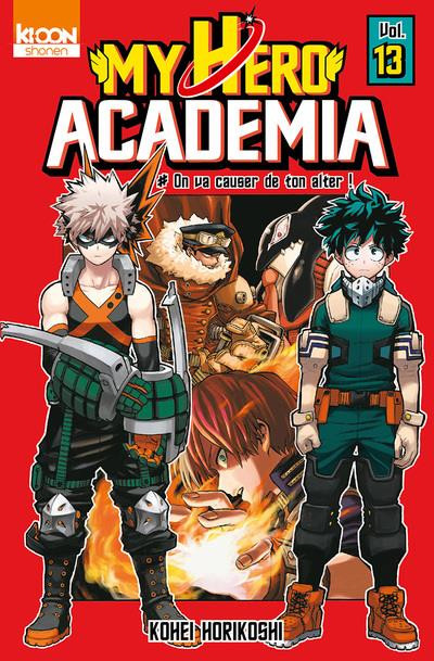 Couverture My hero academia tome 13