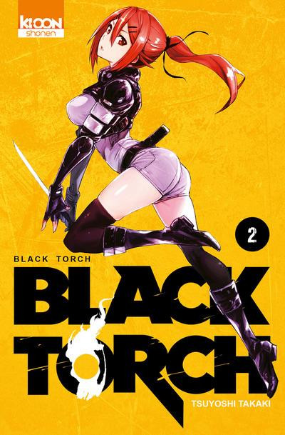 Couverture Black torch tome 2
