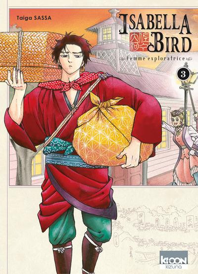 Couverture Isabella Bird - femme exploratrice tome 3
