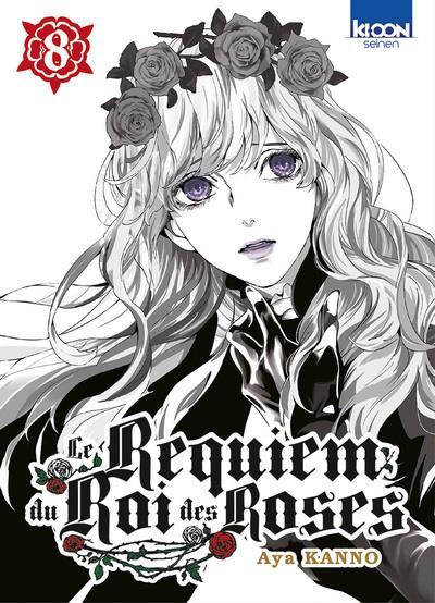 Couverture Le requiem du roi des roses tome 8