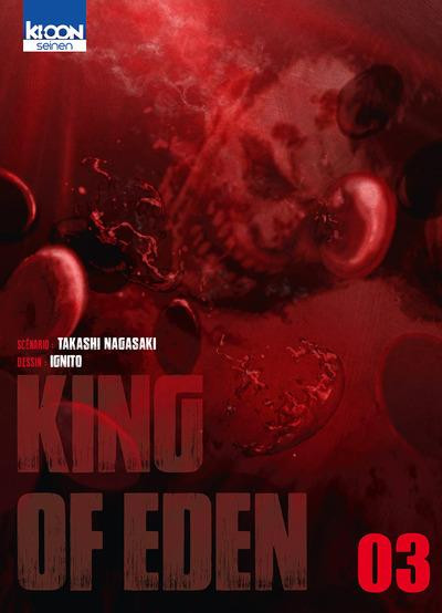 Couverture King of eden tome 3