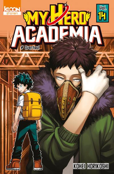Couverture My hero academia tome 14