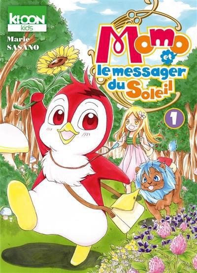 Couverture Momo et le messager du soleil tome 1