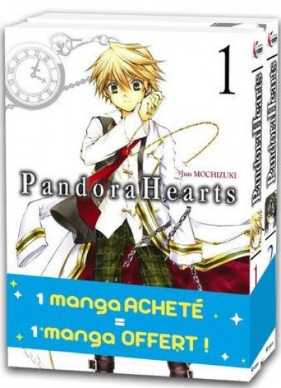 Couverture Pandora hearts - pack tomes 1 et 2