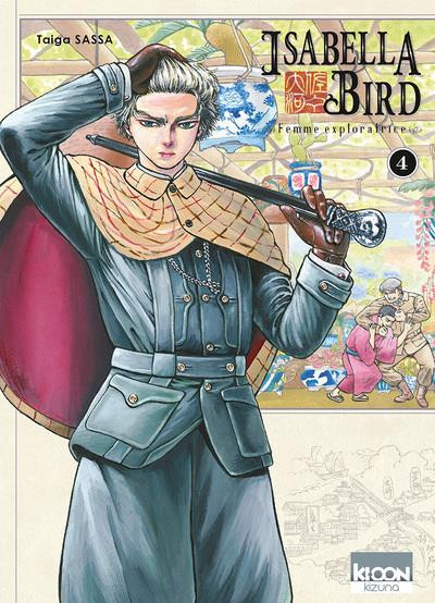 Couverture Isabella Bird, femme exploratrice tome 4