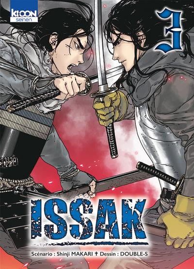 Couverture Issak tome 3