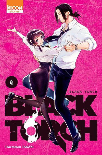 Couverture Black torch tome 4