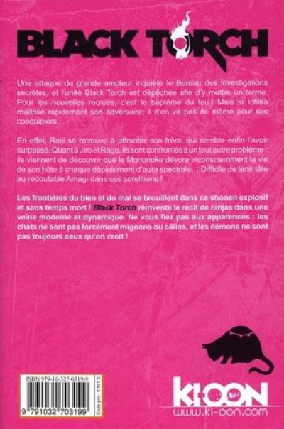 Dos Black torch tome 4