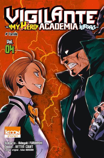 Couverture Vigilante - my hero Academia illegals tome 4
