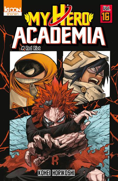 Couverture My hero academia tome 16