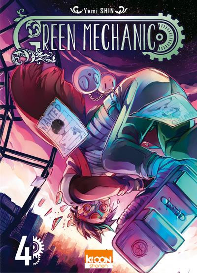 Couverture Green mechanic tome 4