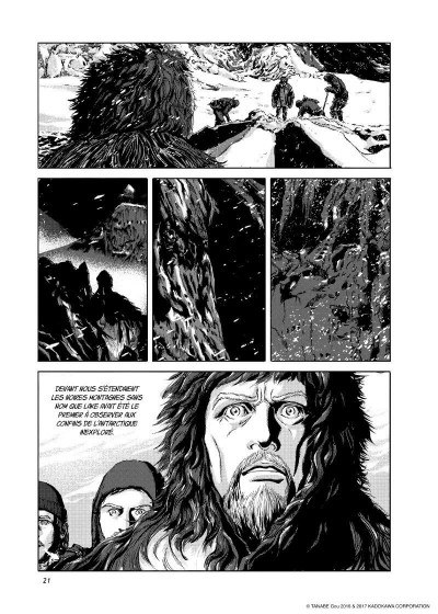 Page 6 Les montagnes hallucinées tome 1