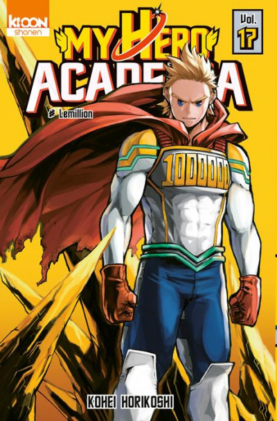 Couverture My hero academia - édition collector tome 17