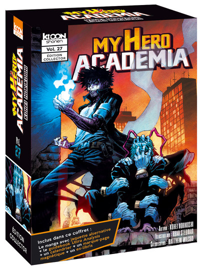 Couverture My hero academia - édition collector tome 27