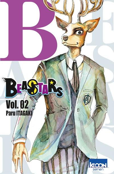 Couverture Beastars tome 2