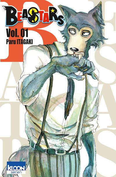 Couverture Beastars tome 1