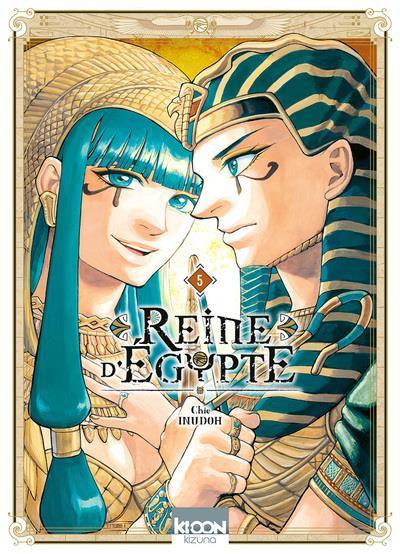 Couverture Reine d'Egypte tome 5