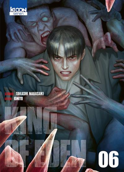 Couverture King of eden tome 6