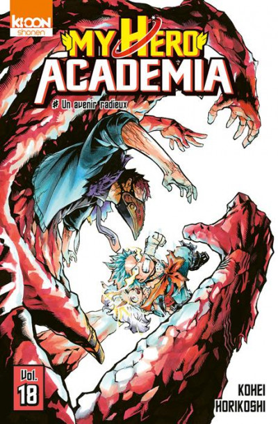 Couverture My hero academia tome 18 - édition collector
