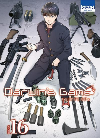 Couverture Darwin's game tome 16