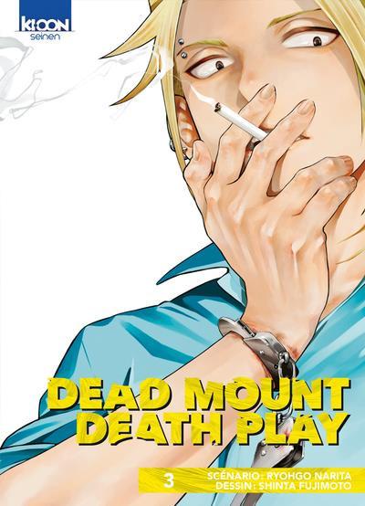 Couverture Dead mount death play tome 3