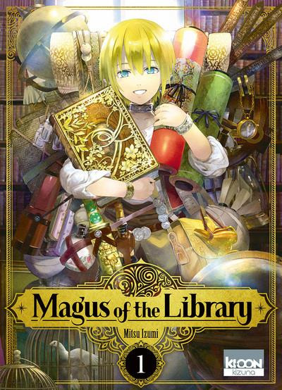 Couverture Magus of the library tome 1