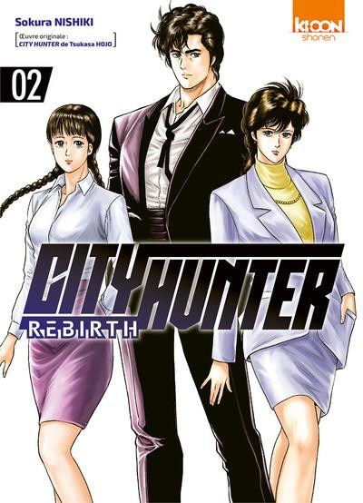 Couverture City hunter rebirth tome 2
