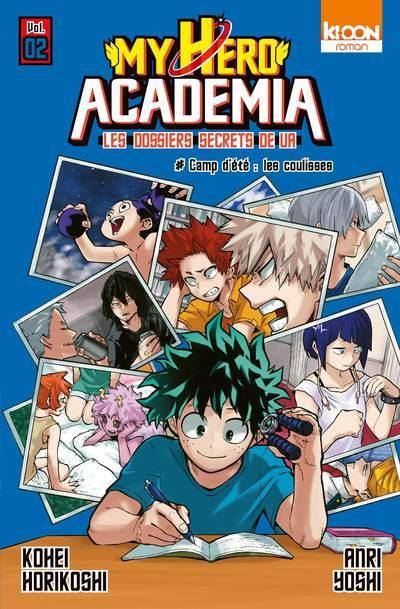 Couverture My hero academia - Les dossiers secrets de UA tome 2 (roman)