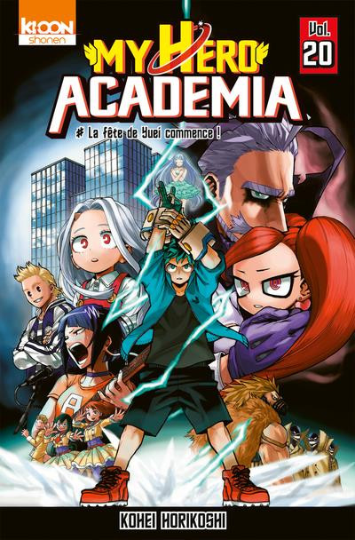 Couverture My hero Academia tome 20