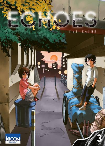 Couverture Echoes tome 3