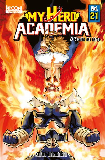 Couverture My hero Academia tome 21