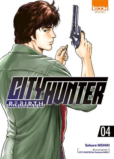 Couverture City Hunter rebirth tome 4