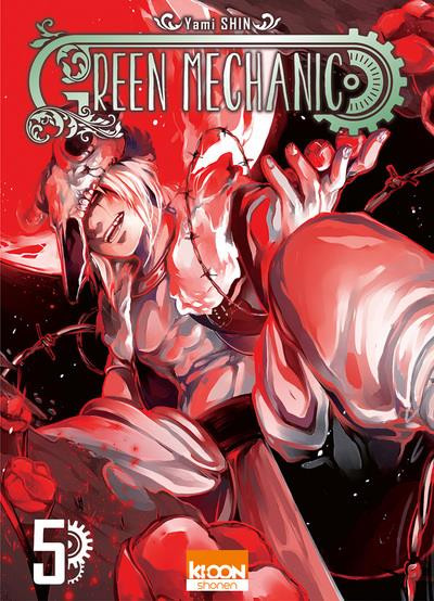 Couverture Green mechanic tome 5