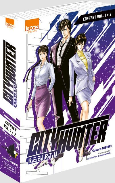 Couverture City hunter rebirth - pack tomes 1 et 2