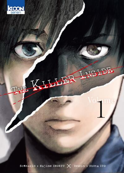 Couverture The killer inside tome 1