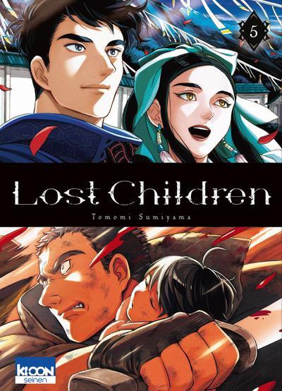 Couverture Lost children tome 5