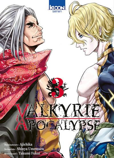 Couverture Valkyrie apocalypse tome 3