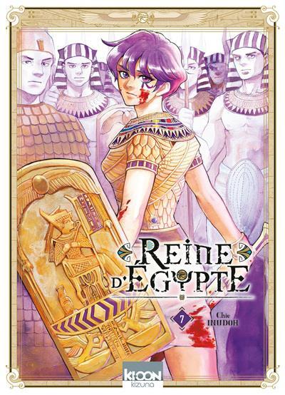 Couverture Reine d'Egypte tome 7