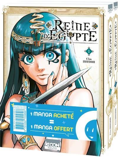 Couverture Reine d'Égypte - pack tomes 1 & 2
