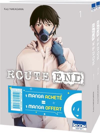 Couverture Route end - pack tomes 1 et 2
