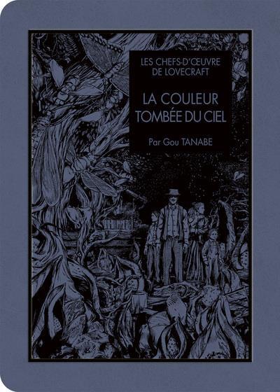 Couverture Les chefs d'oeuvres de Lovecraft - La couleur tombée du ciel