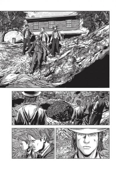 Page 1 Les chefs d'oeuvres de Lovecraft - La couleur tombée du ciel