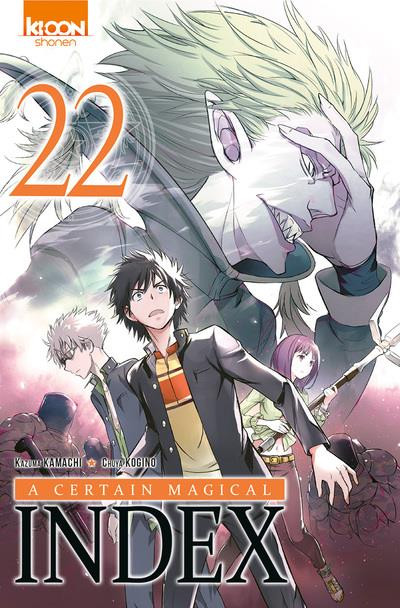 Couverture A certain magical index tome 22