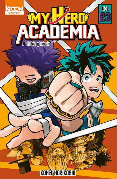 Couverture My hero academia tome 23
