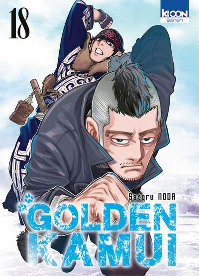 Couverture Golden kamui tome 18
