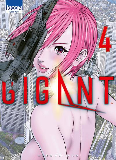 Couverture Gigant tome 4